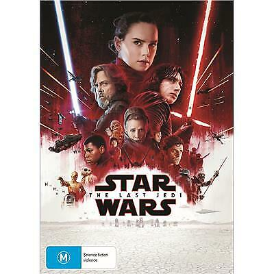 Star Wars - The Last Jedi (Dvd, 2018) R4 Pal Brand New / Sealed