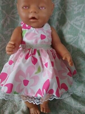 "Handmade Dolls Clothes To Fit Baby Born Or 17"" Doll"