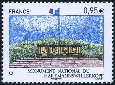 """timbre France neuf 2015 """"monument national du hartmannswillerkopf"""" y&t 4966"""