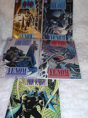 Dc Comics     Batman:   Legend Of The Dark Knight  Venom        5   Bk Set 1991