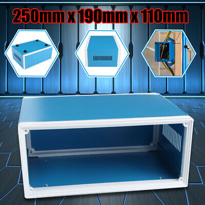 25x19x11cm Metal Electronic Enclosures DIY Project Switch Junction Box Case UK