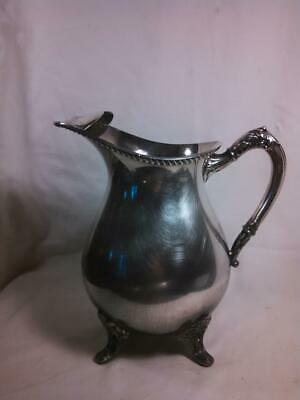 Vintage Bristol Silverplated Pitcher with Ice Guard Bristol Silver Plate EPC