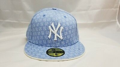 6eba3e5fa67 NEW ERA 59FIFTY New York Yankees MLB Baseball Gray White Custom ...