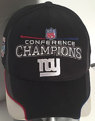 553e0a2b786 New York NY Giants Conference Champions Super Bowl XLII 42 NFL Football Cap  Hat