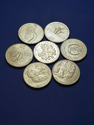 Australian 20 Cent Low Mintage Coin Lot rare collectable nice shiney aUNC f