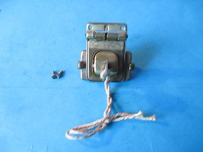 Vintage Cheney Brass Lock Complete With Key.