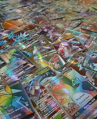 Lot De 25 Cartes Pokemon Gx/ Lot Of 25 Gx Pokemon Cards/ 25 Pcs