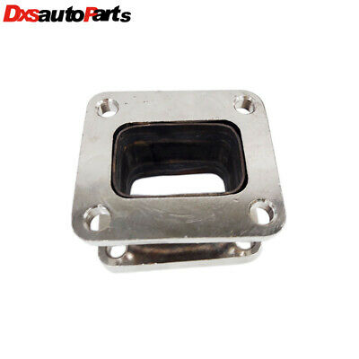 New Mild steel Turbo Charger Turbo Manifold Flange T4 to T4 Adapter Conversion