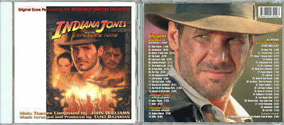 SC - INDIANA JONES AND THE EMPEROR'S TOMB (Complete Motion Score) - John William