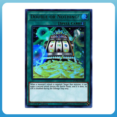 Double or Nothing! - DUPO-EN064 1st Edition - Ultra Rare - YUGIOH