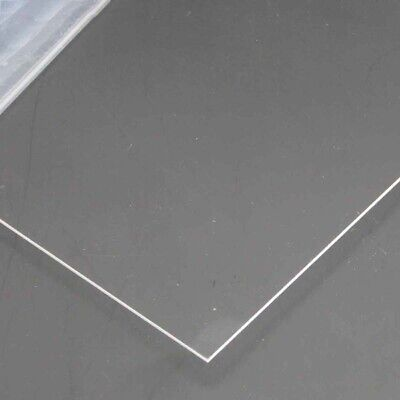 1pcs Ultra Transparent Acrylic Sheet DIY Model Material In Various Sizes