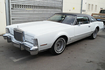 Lincoln Continental Mark IV / US Car / LPG / V8 / Coupe