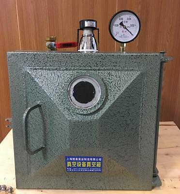 300*300*300mm Vacuum Deaeration Box, Epoxy Resin /AB Glue Defoaming Machine t