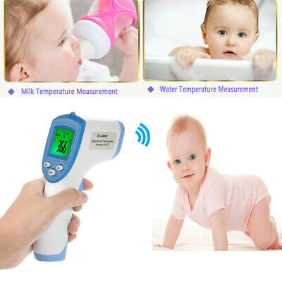 LCD Digital IR Thermometer For Baby Kids Adult Body Skin Non-contact Infrared