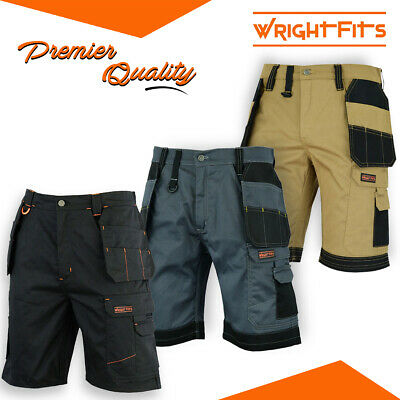 MENS DICKIES REDHAWK PRO COMBAT SHORTS WAIST BLACK WORK SIZE 30-42 WD802 Shorts Clothing, Shoes & Accessories