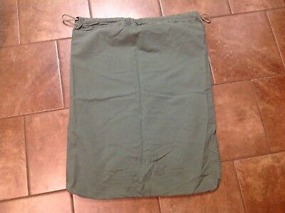Genuine US Army issue Military Barracks Laundry Clothes Bag - Green Preowned