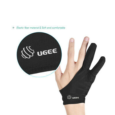 Tablet Drawing Glove Anti-fouling Two-Finger for Art Graphics Painting Pad Z7U8