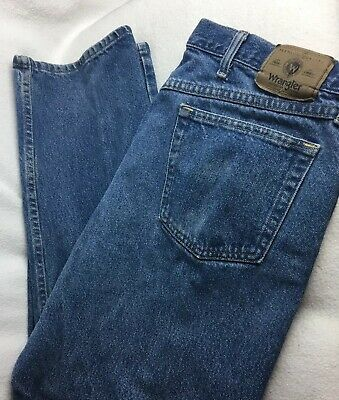 fb85c3fa Mens Jeans Wrangler size 38 x 30 Relaxed Fit Classic Straight Leg Pants