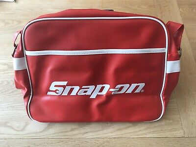 Snap-On Tools Red Holdall Satchel Retro Man Bag Genuine Brand New Limited Editio