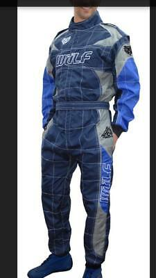 BRAND NEW 2018 design fireproof overalls wulfsport blue grey and navy