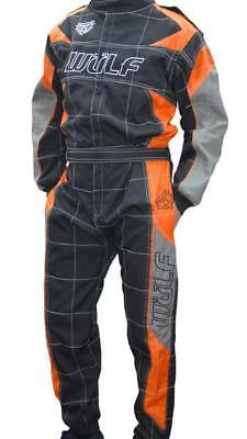 BRAND NEW 2018 design fireproof overalls wulfsport orange grey and black