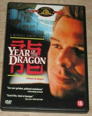 "DVD Film ""YEAR OF THE DRAGON"" (Rourke, Lone, Kava, Wong, Barry, Jones, Termo)"
