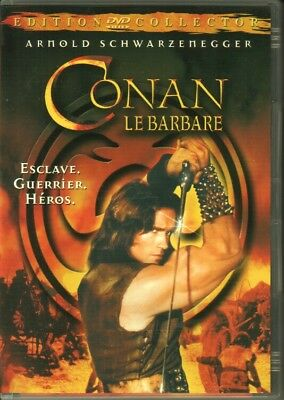 "DVD ""CONAN le Barbare"" - édition collector"