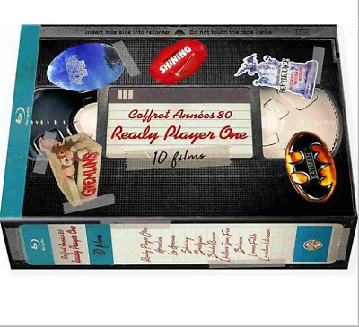 [Blu-ray] Coffret 10 films cultes  - NEUF SOUS BLISTER