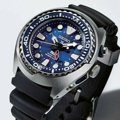 Seiko Sun065 Special Edition Padi Kinetic Gmt Diver Watch 300 00