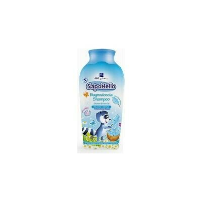 FELCE AZZURRA Bathroom Shower Mild Shampoo Children Saponello Candyfloss 400Ml