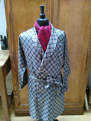 Vintage TOOTAL Dressing gown 1960/70 's Large