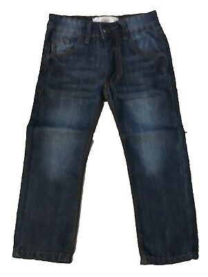 Boys Denim Original Slim Pants for 4 Years Old.