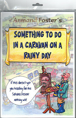 Puzzle/activity Pack - Something To Do In A Caravan  On A Rainy Day