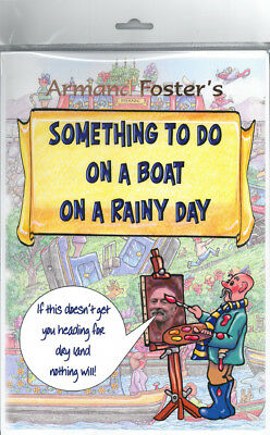Puzzle/activity Pack - Something To Do On A Boat On A Rainy Day