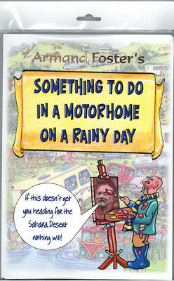 Puzzle/activity Pack - Something To Do In A Motorhome  On A Rainy Day