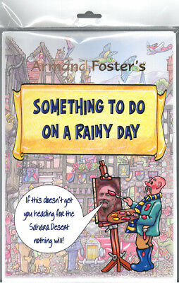 Puzzle/activity Book - Something To Do On A Rainy Day Puzzle/activity Pack