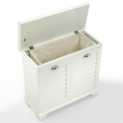 Crosley Lydia Laundry Hamper in White