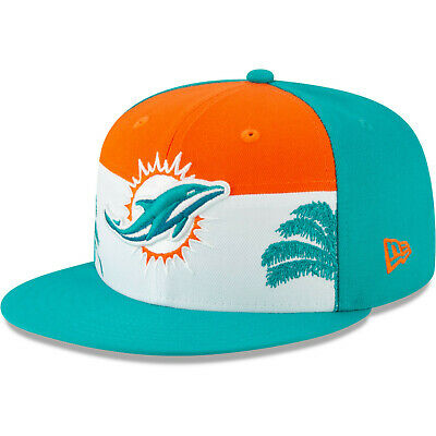 the best attitude a338c 4e6aa 2019 Miami Dolphins New Era 9FIFTY NFL Draft On Stage Snapback Hat Cap 950