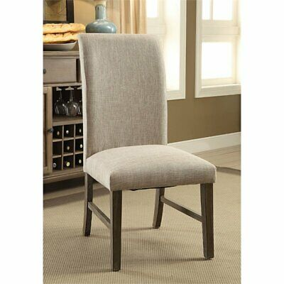 Furniture of America Malgaria Parsons Dining Side Chair (Set of 2)