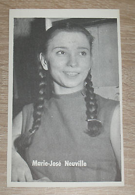 "CP - Carte Postale - Postcard - Postkaart ""Marie-José NEUVILLE"" Lotto-Photo"