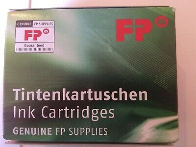 Francotyp Postalia (FP Postbase) 10ml Ink Cartridge 2 Inks in the Box