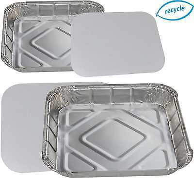 """6"""" Square Foil Baking Trays,Pie Dishes, Tray Bake, Casserole Containers......."""