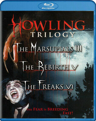 Howling Trilogy (The Marsupials Iii / The Rebirth V / The Freaks Vi) ( (Blu-Ray)