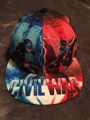 big sale 3e6b2 662e9 Marvel Captain America CW All Over New Era 59Fifty Fitted Hat Cap 7 1 4  Panther.  16.99 Buy It Now 1d 9h. See Details. Captain America Civil War New  Era ...