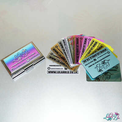 Personalised Metal Business Cards | Customised Business Cards | Unique Cards