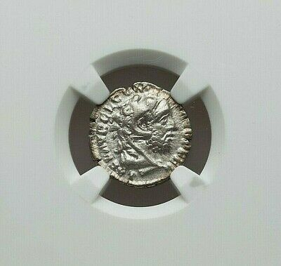 Ad 177-192 Roman Empire Commodus Silver Ar Denarius Ngc Choice Vf 4/5-3/5