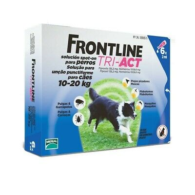 Frontline Tri Act 10 20 Kg 6 Pip