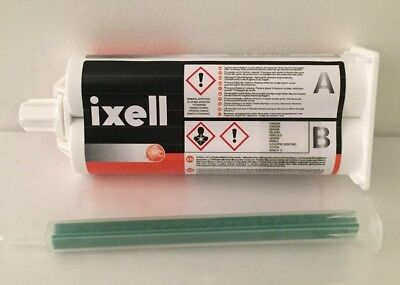 Colle De Reparation Pour Plastique Professionnelle Ixell Made In Germany 50Ml