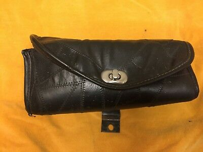 Harley Windshield Pouch Bag Touring Glide Road King Softail Dyna Sporty Custom