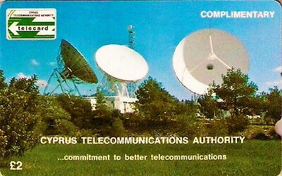 Cyprus FIRST PHONECARD 1988 1CYPA  CYTA TELECARD RRR EXTREMELY RARE Collectable